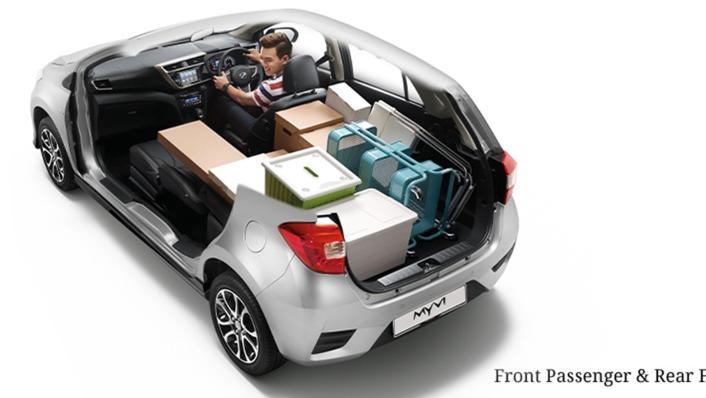2020 Perodua Myvi 1.3L G AT Interior 005