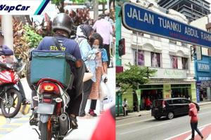 DBKL, polis bakal 'gempur' penunggang 'delivery' guna laluan pejalan kaki!