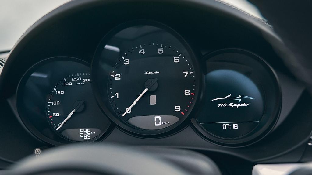 2019 Porsche 718 718 Spyder Interior 005