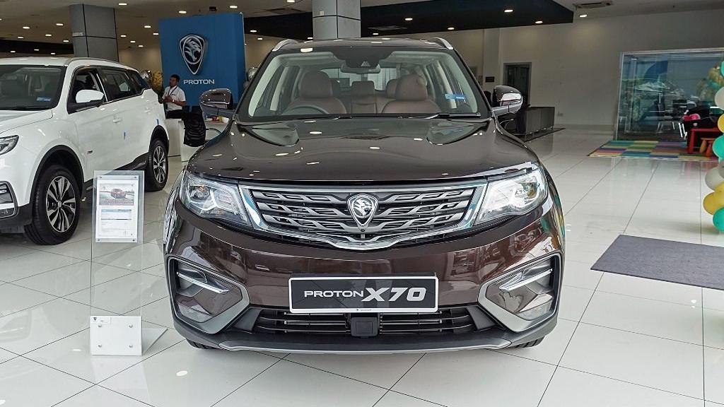 2018 Proton X70 1.8 TGDI Premium 2WD Exterior 002