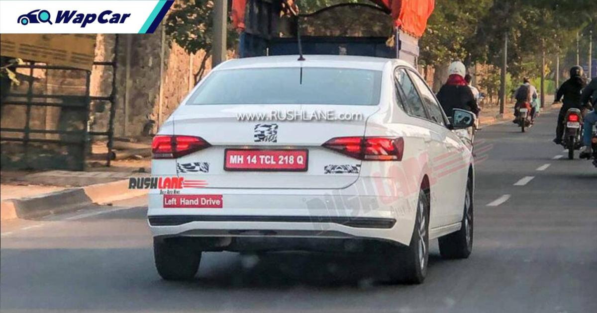 Spyshot: Volkswagen Virtus diintip di India, bakal ganti VW Vento? 01