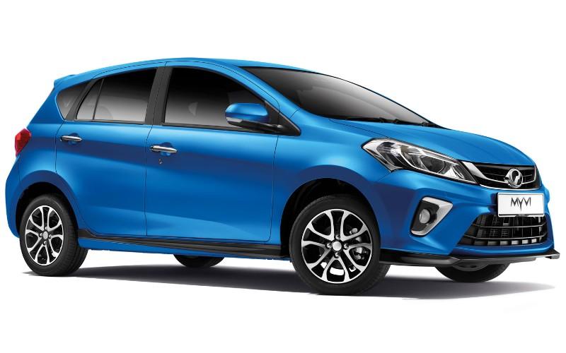 Perodua Myvi 2020 kini dengan A.S.A 2.0, warna baharu Electric Blue! 02