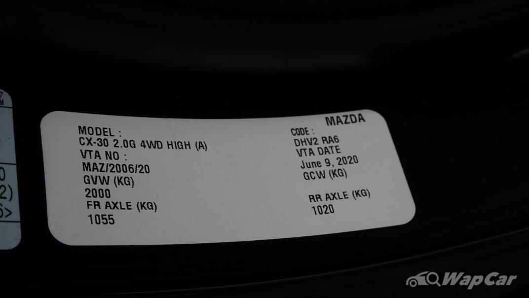 2020 Mazda CX-30 SKYACTIV-G 2.0 High AWD Others 006