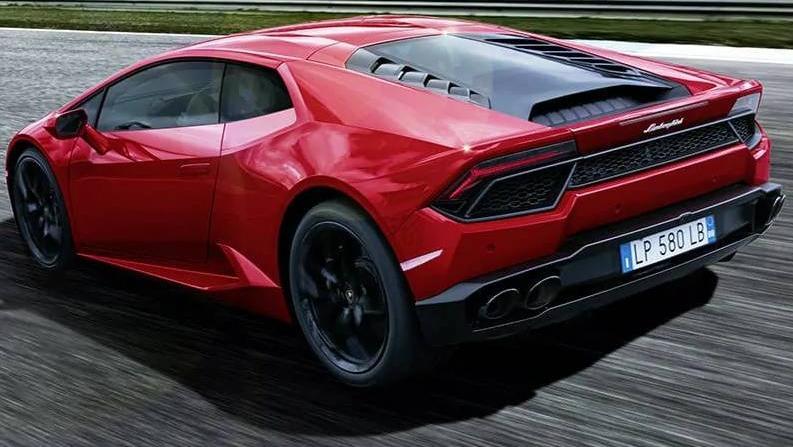 Lamborghini Huracán (2017) Exterior 008