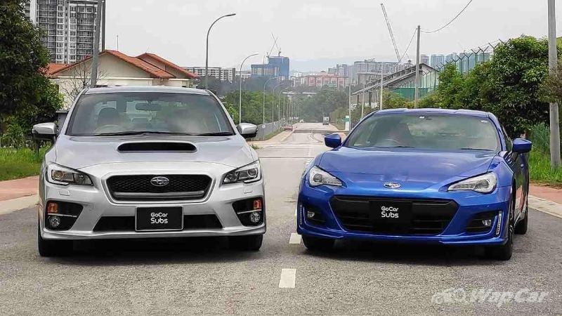 You can now subscribe to a Subaru BRZ or a Subaru WRX on GoCar Subs 02