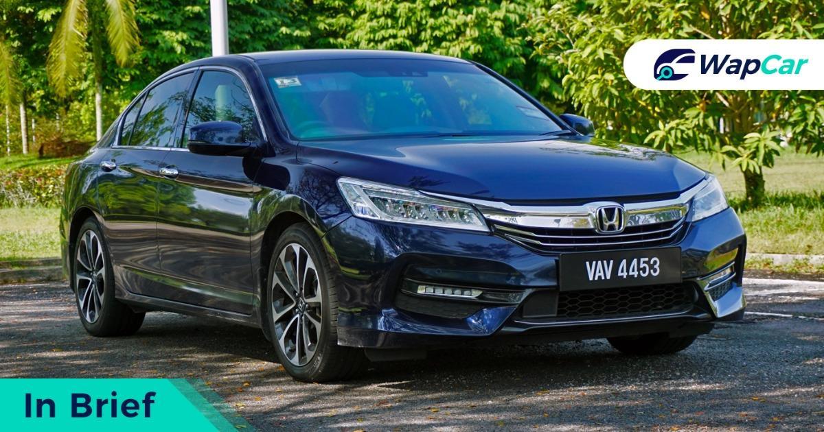 2019 Honda Accord front