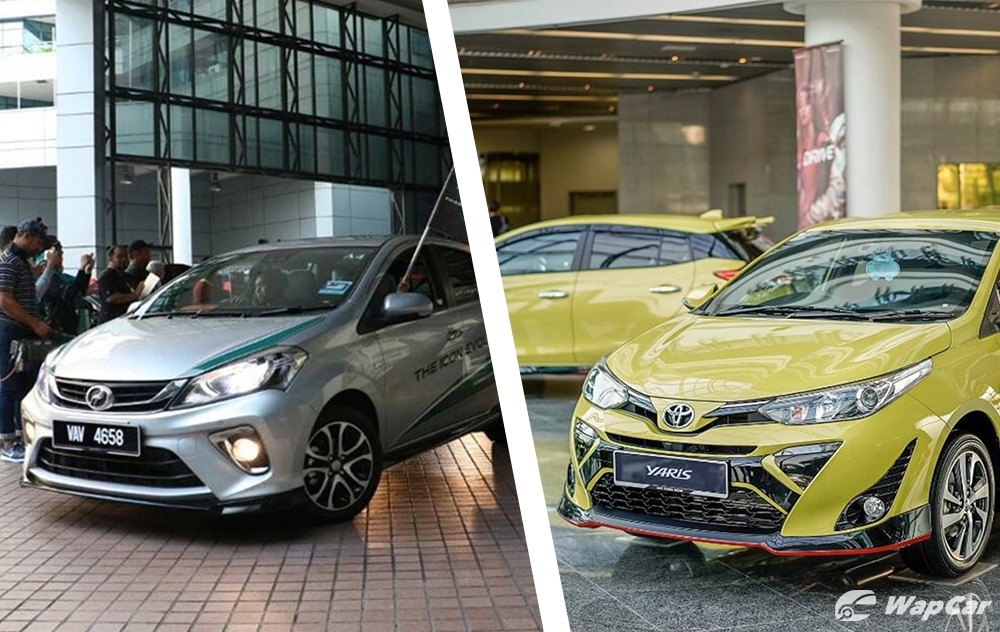Perodua Myvi vs Toyota Yaris