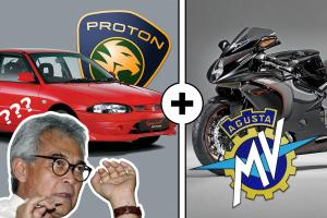 Remember when Proton paid 70 mil Euros for MV Agusta, and sold it for 1 Euro?