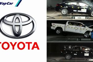 Toyota rangkul 3 anugerah di ASEAN NCAP Award 2019-2020!