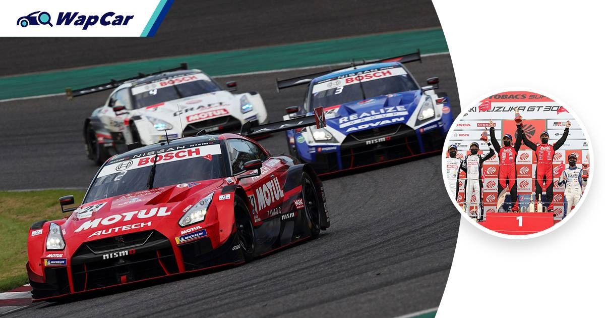 Nissan GT-R Nismo nets 2 consecutive wins in the 2021 Super GT Series GT500 class 01