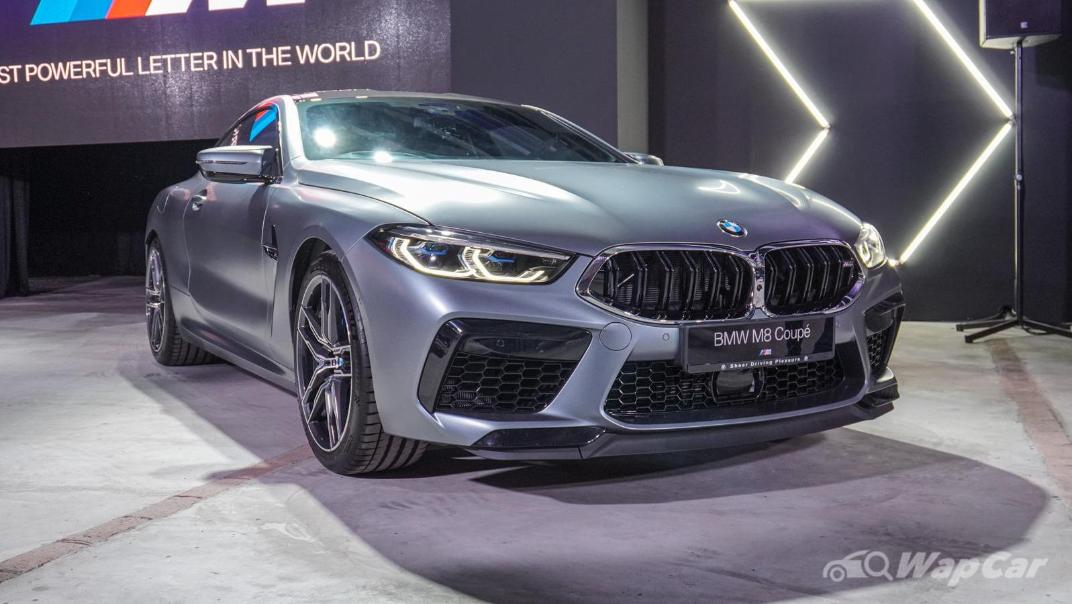 2020 BMW M850i xDrive Coupe Exterior 002