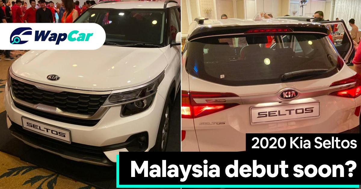 2020 Kia Seltos previewed to Malaysian dealers, set to challenge the Honda HR-V 01