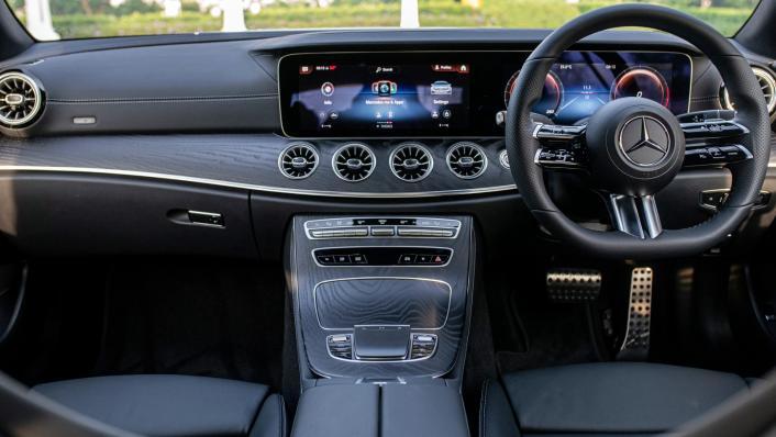 2021 Mercedes-Benz E-Class Coupe E300 AMG Line Interior 001