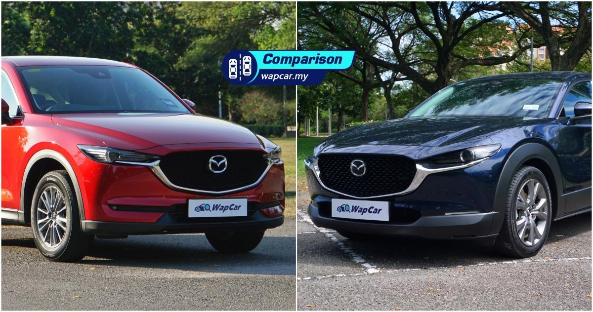Mazda CX-5 vs Mazda CX-30: Which SUV should you go for? 01