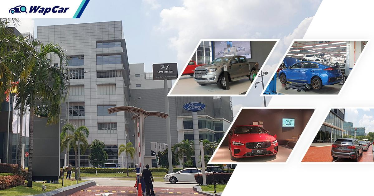 Housing 9 different brands, Sime Darby Motors City is ASEAN's biggest auto complex 01