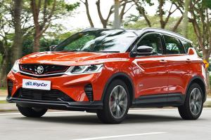 Ratings: 2020 Proton X50 1.5 TGDI - High fuel consumption, but a good all-rounder