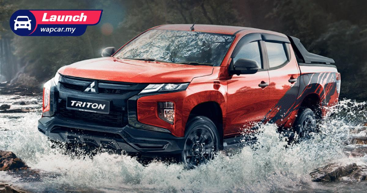 Priced from RM 141k, the 2021 Mitsubishi Triton Athlete could run rings around the Hilux Rogue 01