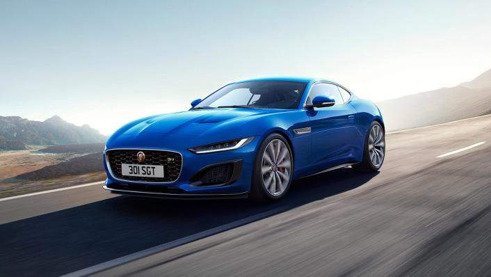 2020 Jaguar F‑TYPE Coupe Exterior 001