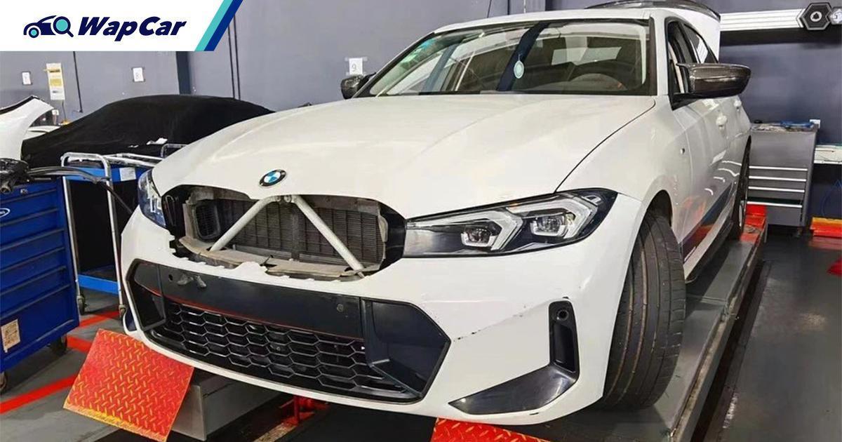 泄露图:G20 2022 BMW 3 Series小改款(LCI)先睹为快! 01