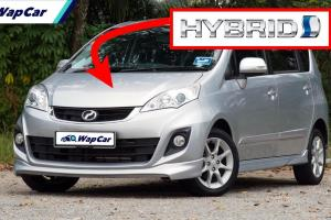 Perodua Alza baharu akan menggunakan teknologi separa hibrid?