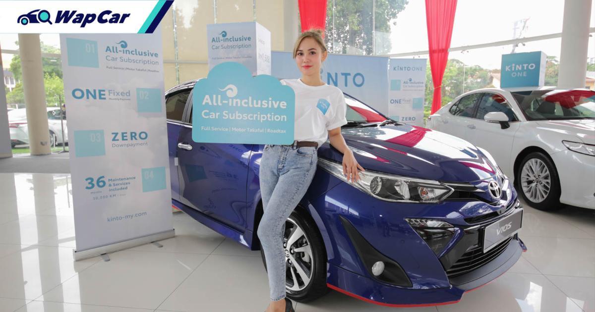 Nak langgan Toyota serendah RM 1,678 sebulan? Anda boleh dengan pelan Kinto One! 01