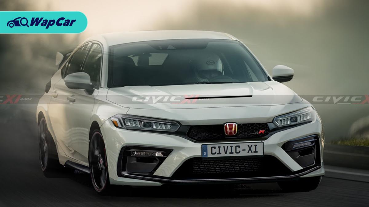 All-new 2023 Honda Civic Type R rendered to rage your need for speed dreams 01