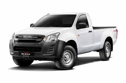 2019 Isuzu D-MAX Single Cab 1.9L 4x4 MT