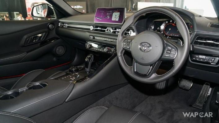 2019 Toyota GR Supra 3.0L Interior 002