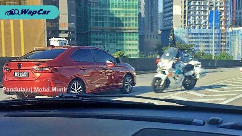 Spied All New 2020 Honda City Spotted In Malaysia Launch Imminent Wapcar