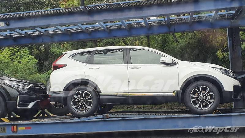 Intipan: Honda CR-V 2021 'facelift', nak sampai bilik pameran dah! 02