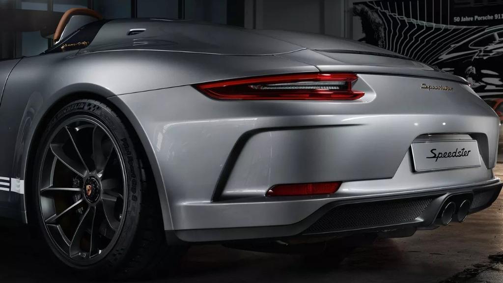 2019 Porsche 911 911 Speedster Exterior 002