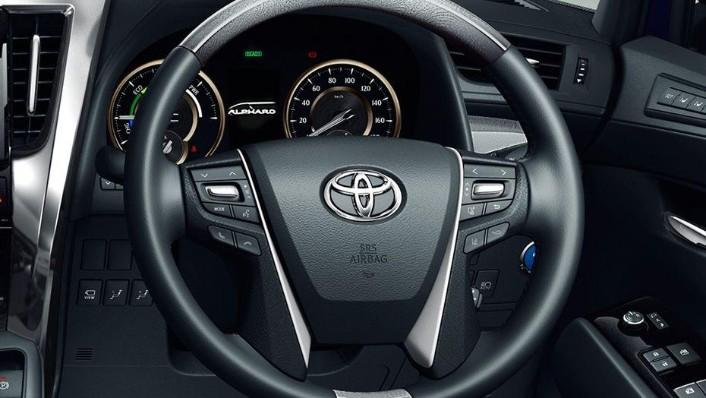 Toyota Alphard (2018) Interior 001