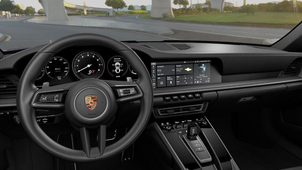 2019 Porsche 911 Carrera 4S Interior 001