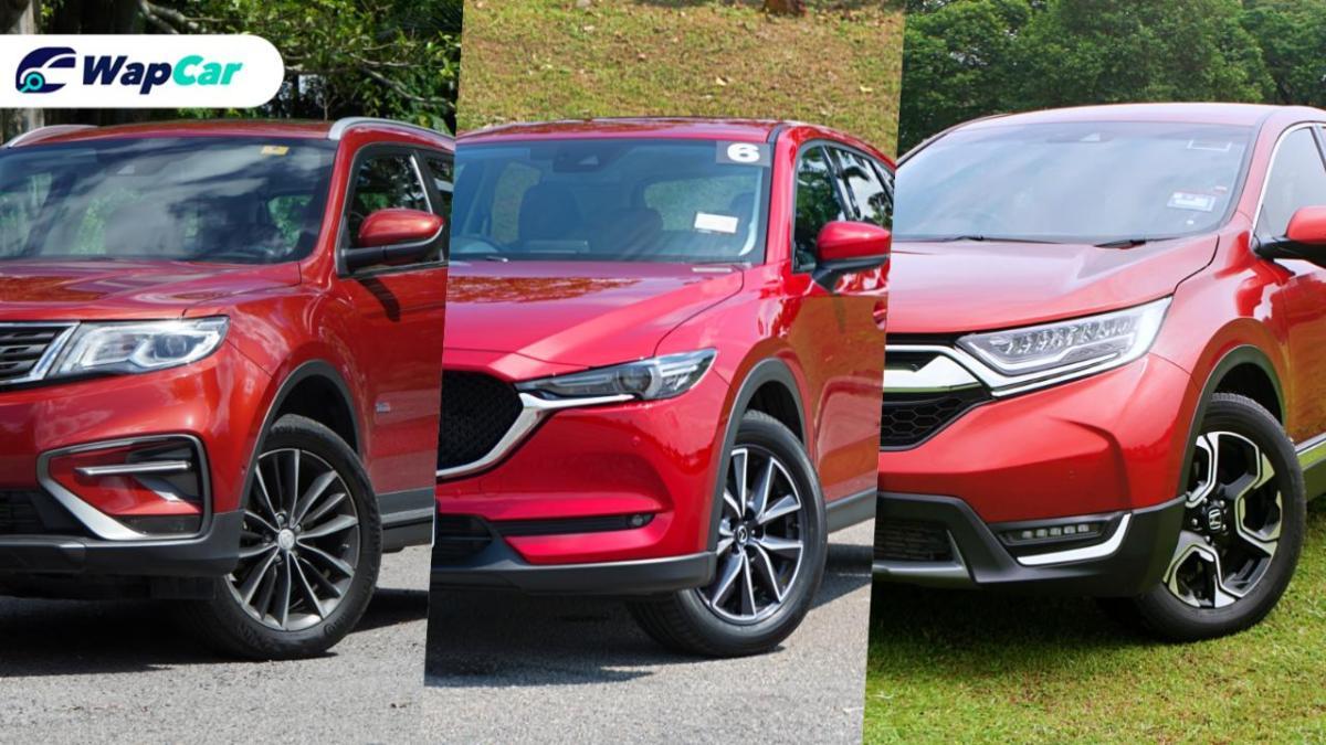 Ratings Comparison: Proton X70 vs Honda CR-V vs Mazda CX-5 - Ride comfort 01