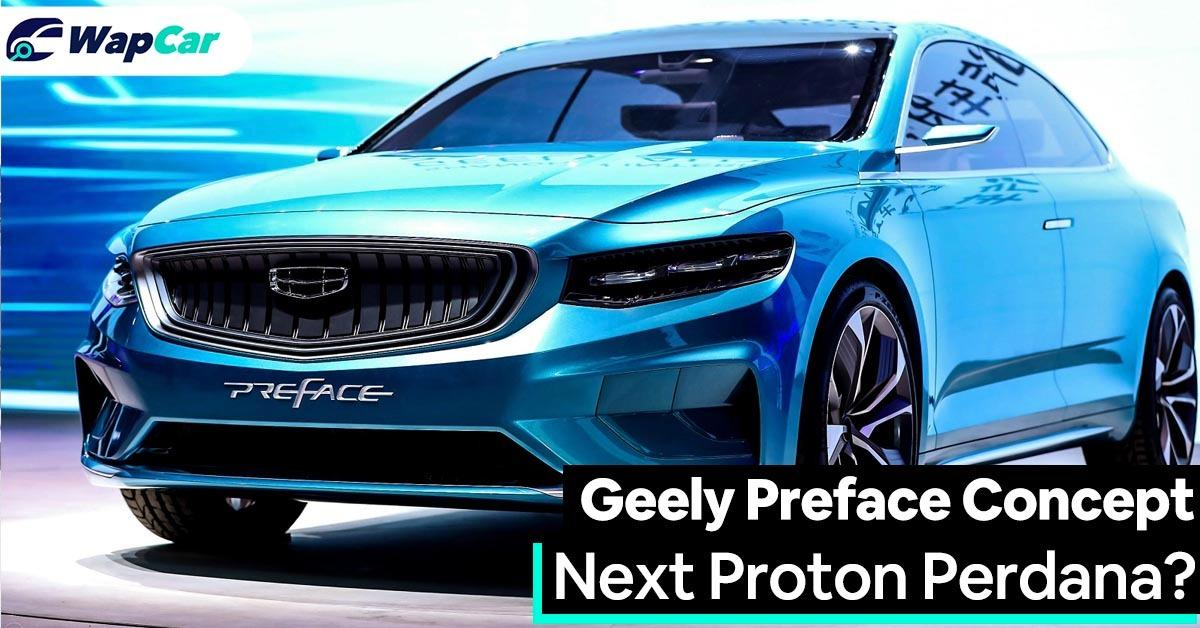 Geely Preface Concept: Could this be the next Proton Perdana? 01