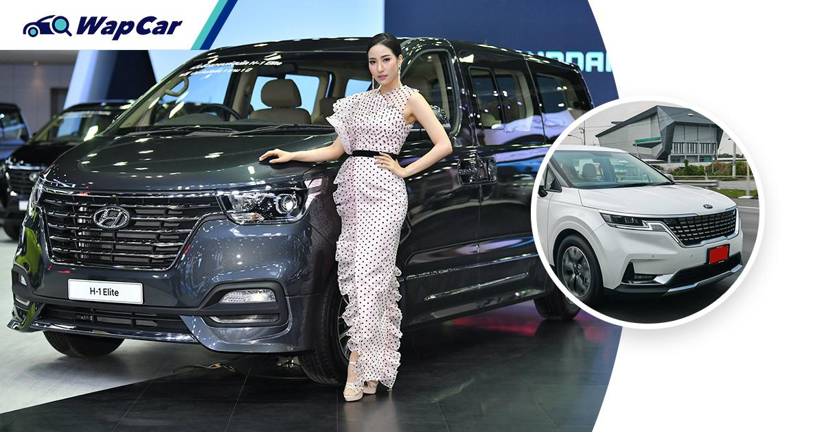 Hyundai H-1 still leads Thailand's 11-seater MPV market, but the 2021 Kia Carnival is catching up 01