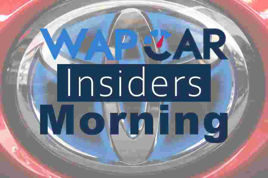 Wapcar Morning Insiders (Sep. 18, 2019)