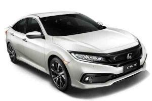 New Platinum White Pearl colour for Honda Civic and Honda BR-V