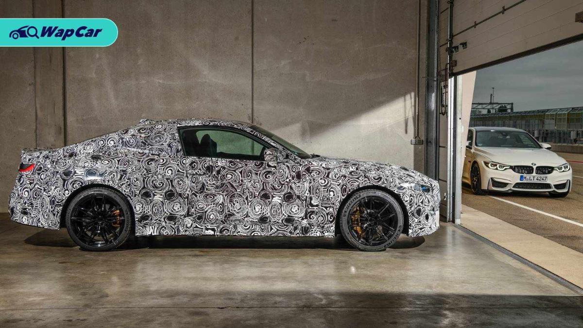 2020 BMW M3 side