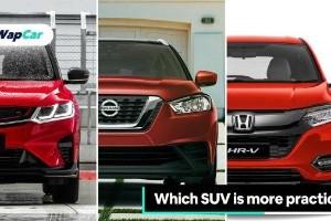 Proton X50 vs Nissan Kicks vs Honda HR-V – Yang mana lebih praktikal?