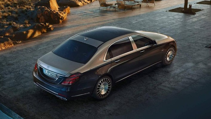 Mercedes-Benz Maybach S-Class (2018) Exterior 004