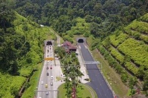 Awas will be watching as you enter and exit the Menora Tunnel in Ipoh
