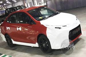 谍照:2021 Toyota Vios GR Sport实车首次现身!