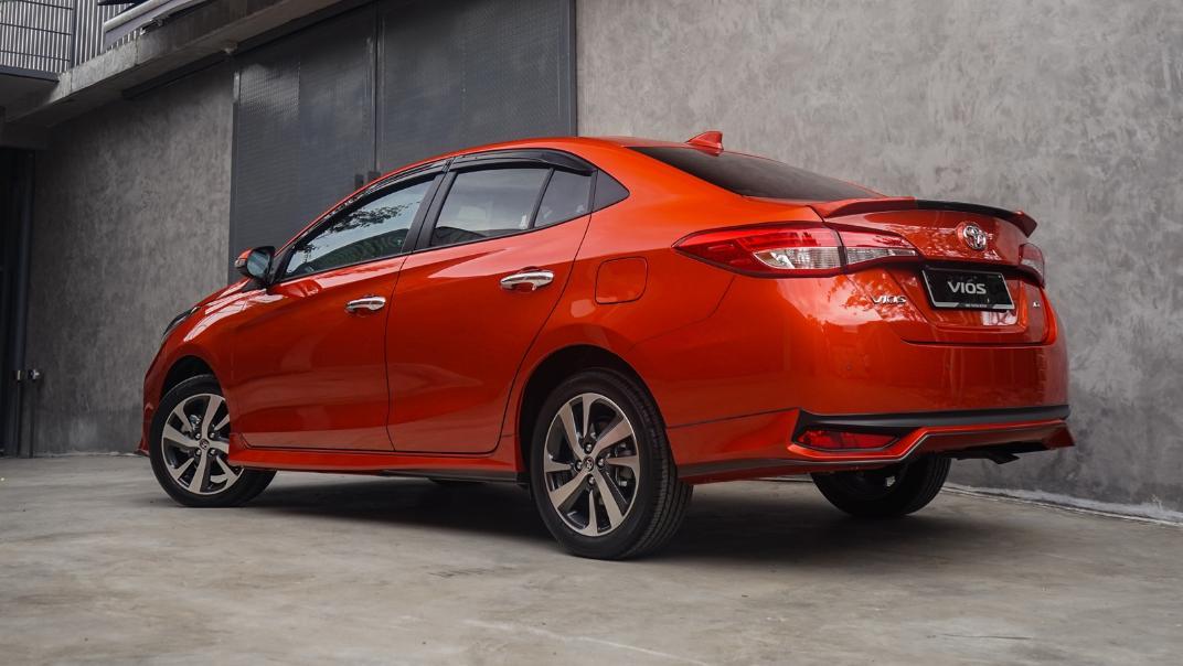2021 Toyota Vios 1.5E Exterior 013