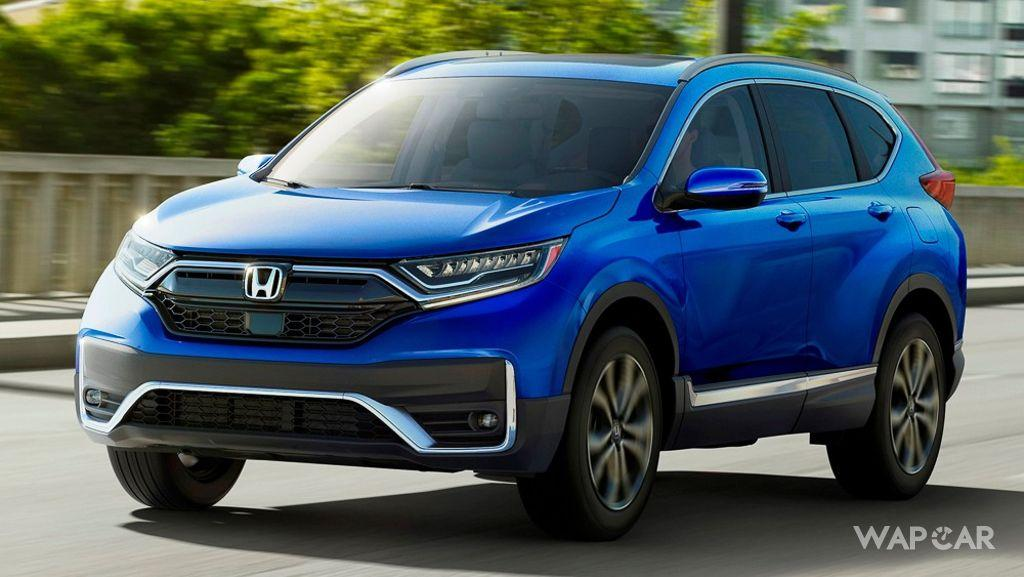 Honda CR-V facelift revealed in U.S. without much changes 01