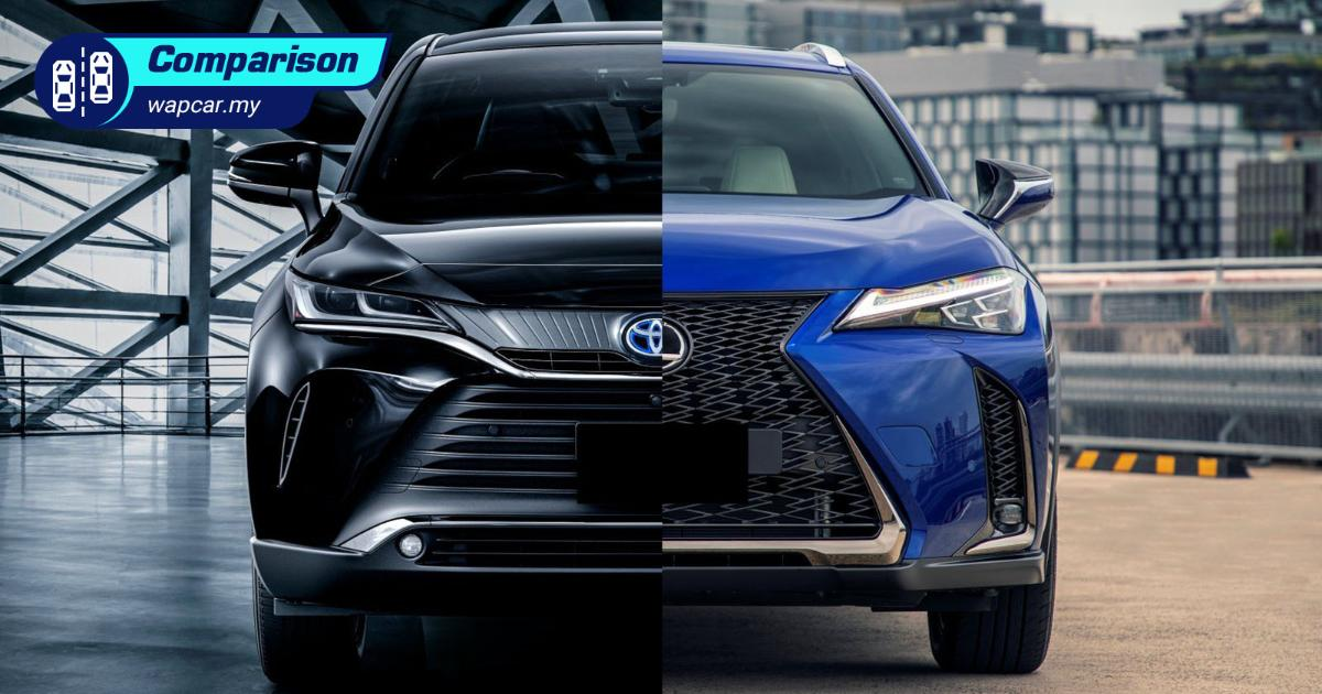 RM 249k 2021 Toyota Harrier vs RM 236k Lexus UX: Why Toyota when you can Lexus? 01