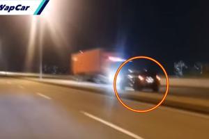 Pemandu SUV lawan arus di Butterworth diburu polis, katanya nak elak roadblock