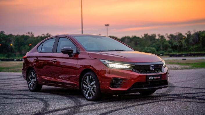2020 Honda City RS 1.5 Hybrid Exterior 008