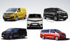 5 electric MPVs & vans from Toyota and PSA Group