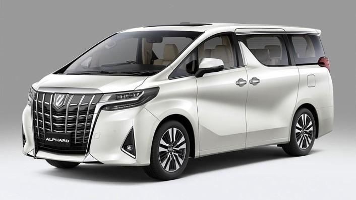 2020 Toyota Alphard 3.5 Exterior 001